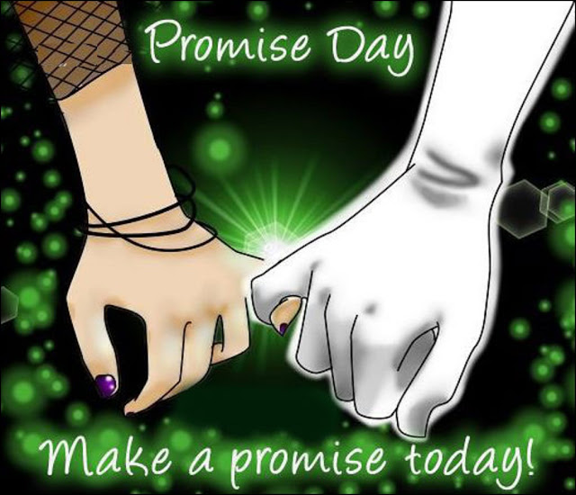 Happy Promise Day HD Wallpaper